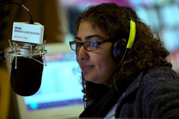 BBC Radio Leicester's Rupal Rajani