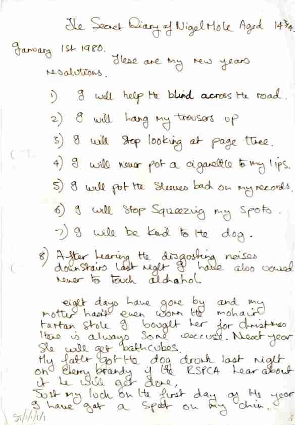 2.2 Secret Diary mss